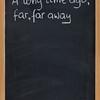 opening phrase of storytelling or fairytale