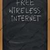 free wireless internet text on blackboard