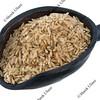 scoop of basmati brown rice
