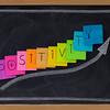 positivity concept on blackboard