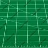 green self healing cutting mat abstract