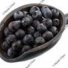 scoop of fresh blueberries