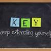 keep extending yourself - motivation acronym