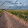 farm road in Pawnee Grassland, Colorado