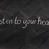 listen to your heart on a blackboard
