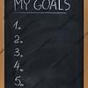 my goals list on blackboard