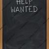 help wanted text on blackboard