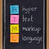 hyper text markup language - html