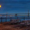 San Francisco at night - Bay Bridge
