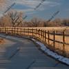 bike trail in Colorado near Greeley