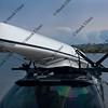 kayak on car roof racks