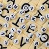 chaotic alphabet background