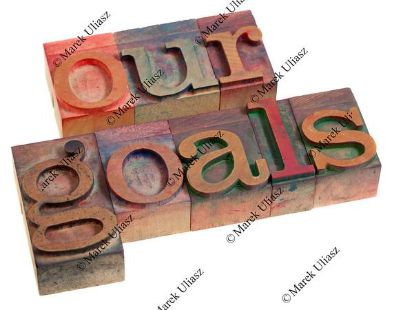 our goals concept