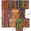 faith, love and hope