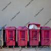 garbage recycling bins