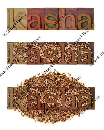 kasha - roasted buckwheat