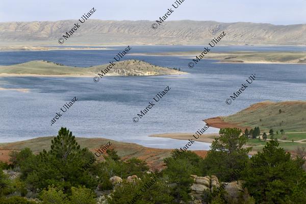 Seminoe Reservoir in Wyoming