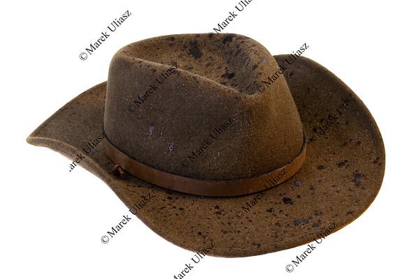 wet wool felt cowboy hat