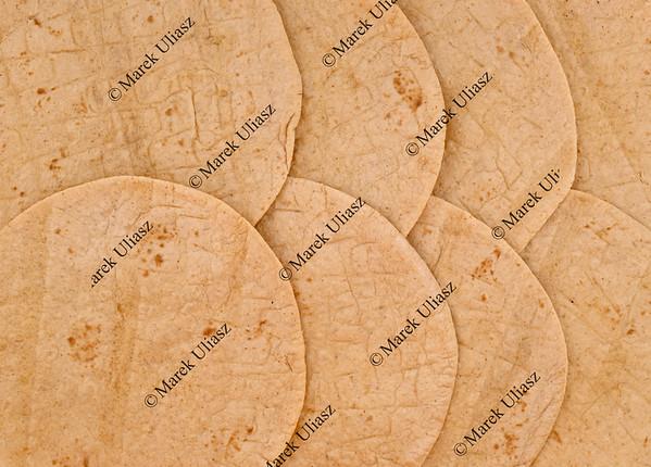 wheat tortilla background
