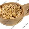 scoop of pine nuts