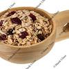 scoop of muesli cereal