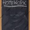homework assignment on blackboard