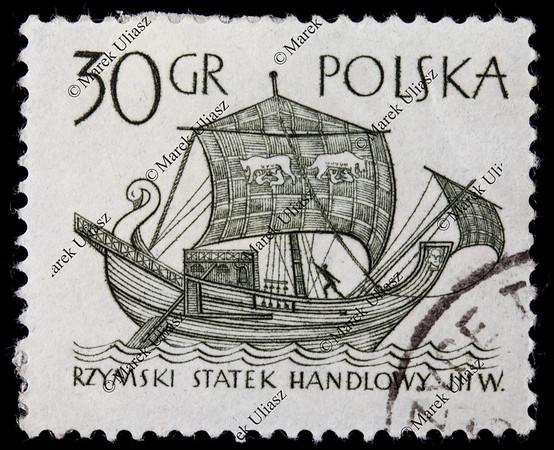 ancient Roman trade ship