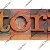 tutorial - word in letterpress type