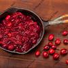 frying cranberries