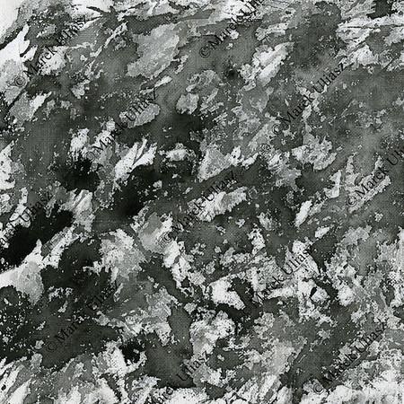 black paint splashes on canvas