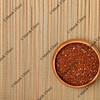 bowl of red quinoa grain