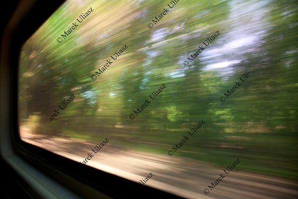 train window view