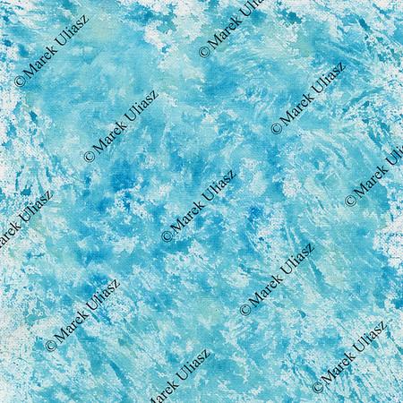 blue watercolor splashes