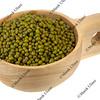 scoop of mung beans