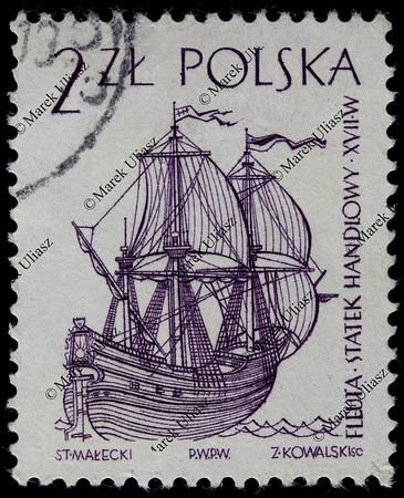 fleuta (fluit) commercial sail ship