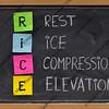 Rest, Ice, Compression, Elevation - medical acronym