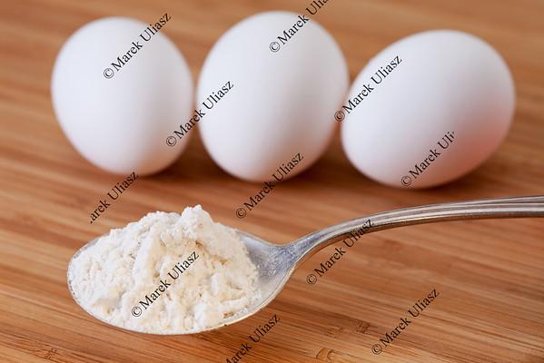 flour and egss