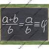 golden ratio on blackboard