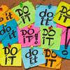 procrastination concept - do it
