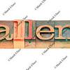 challenge in letterpress type