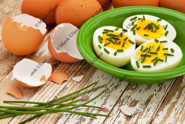 spring or Easter egg concept