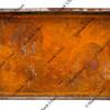 rusty metal tray