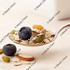 spoon of muesli cereal