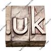 dot UK - internet domain for United Kingdom