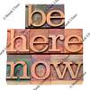 motivational reminder in letterpress type