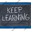 Keep learning on blackboard