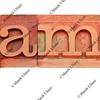 game - word in letterpress type