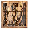 vintage alphabet letters