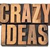 crazy ideas in letterpress type