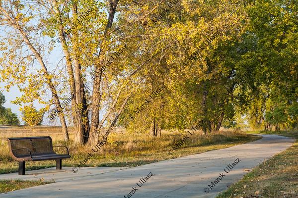 recreational biking trail